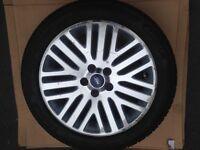 Ford Mondeo/ Focus Titanium Alloy Wheel with Landsail Tyre 235/45 ZR17