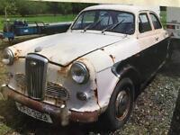 Wolseley 1500, 1957 restoration project