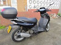 Aprilia Sports City Scooter 278cc. Immaculate condition. Mileage 4998