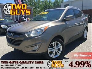 2011 Hyundai Tucson GLS 4x4 HEATED FRONT SEATS BLUETOOTH CONNECT
