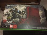 Xbox one s gears of war ed .. 2tb