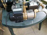 Stuart Turner Monsoon Extra U 3.6 Bar Single Shower Pump