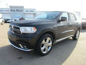 2015 Dodge Durango LIMITED AWD LEATHER 7 PASS / REAR VIDEO / SUN