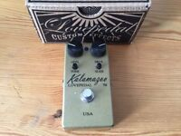 Lovepedal Kalamazoo Gold Overdrive Guitar Pedal