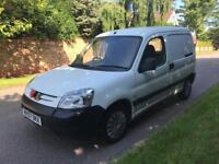 PEUGEOT PARTNER LX 800 1.6 2008 80k VERY CLEAN VAN INSIDE AND OUT 07760971405