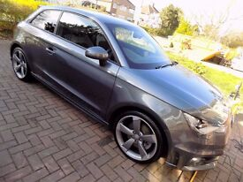 Audi A1 2.0 TDI Black Edition, perfect condition and a lovely car to drive.