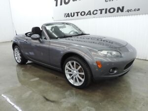 2008 Mazda MX-5 GS DÉCAPOTABLE TOIT RÉTRACTABLE