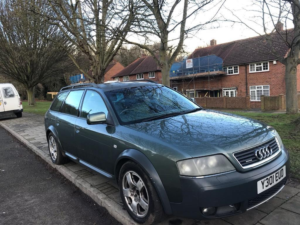2001 audi a6 allroad 2 7t quattro in orpington london. Black Bedroom Furniture Sets. Home Design Ideas