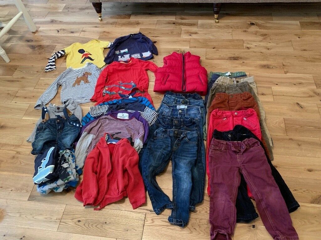 912559eee Boys clothes- Mix of 2-3 & 3-4 yrs old. John Lewis, Boden, Levi's and M&S