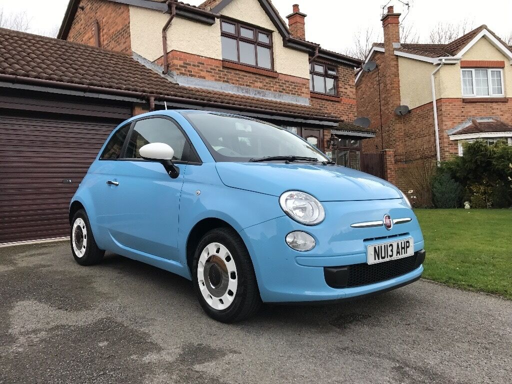 2013 fiat 500 colour therapy 1 2 blue 12 months mot 1 previous owner in hartlepool county. Black Bedroom Furniture Sets. Home Design Ideas