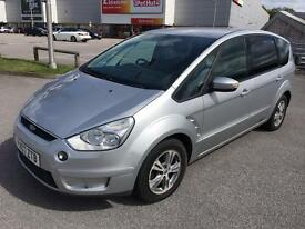 Ford s max 1.8 tdci,full dealer service history (9) stamps ,low mileage 79k