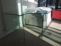 John Lewis Staten Glass Corner Office Desk