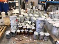 Job lot of paints domestic and commercial