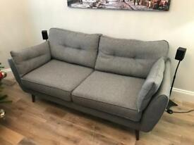 French Connection 3 seater Zinc Sofa DFS