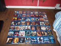 blu ray dvds x 56 all boxed/good titles pick up cosham sn139ng