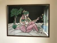 Large framed Indian wall Art ..Offers