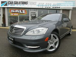 2011 Mercedes-Benz S-Class S550 4MATIC AMG PACKAGE