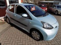 TOYOTA AYGO VVT-I 5 Door Hatchback (blue) 2006