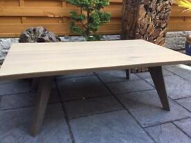 Gorgeous - Oak Split Top Coffee Table - Brand New