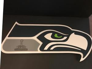 Seattle Seahawks XLVIII Super Bowl Champions 3D Fan Foam Wall Art Sign (New) (Limited Quantity)
