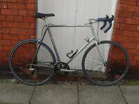 """Large Dawes Equinox 24"""" steel road bike Reynolds 501 tubing"""