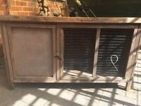 Large rabbit or guineapig outdoor hutch
