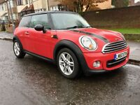 2010 MINI Hatch 1.6 Cooper D Avenue 3dr ... Diesel ... Low Mileage .. 0 Annual Tax ... very cleaned