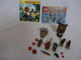 LEGO Chima and Chima DVD bundle