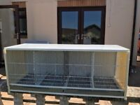 Finch breeding cage can separate into 4 cages