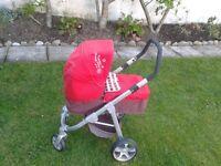 Herbie by mamas & papas childs toy pram