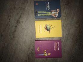 3 new Roald Dahl hardback books