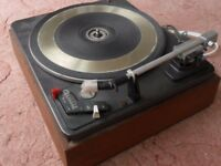 Garrard DeccaDec Record Deck (De-Luxe version of the Garrard SP25 with Decca Deram Arm & Cartridge).