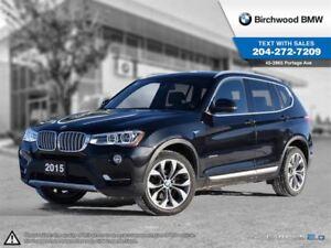 2015 BMW X3 Xdrive28i Lights Package! Executive, Premium Enhan