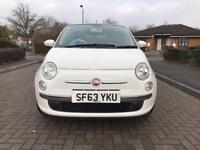 2013 Fiat 500 0.9 TwinAir (start/Stop) 3dr Zero Tax White Only 16 K Miles Part ex Welcome