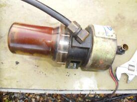 boat parts transicold 12v diesel pump
