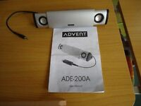 Advent ADE-200A 2.0 Portable Aluminium Multimedia Speaker