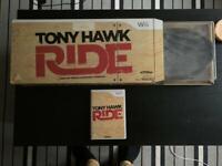 Wii game and skateboard - Tony Hawk Ride