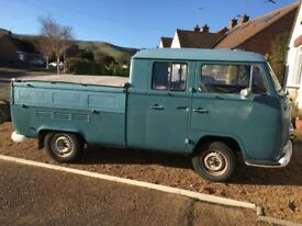 VW T2 Early Bay 1970 Crew Cab pick up Double Cab