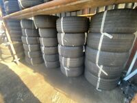 15 INCH PART WORN TYRES CHEAP £22 FULLY FITTED