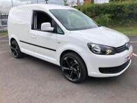 VOLKSWAGEN CADDY 1.6 C20 TDI STARTLINE 1d 74 BHP FULLY COLOUR CODED, LIGHT USE ONLY (white) 2014