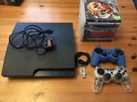 PlayStation PS3 and 11 games (Lego, Destiny, garden Warfare)