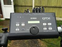 Electronic Drum kit for sale. Yamaha DTX500. Good condition. Huge programme of sounds.Great fun
