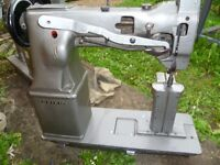 SEIKO PW 27B POST BED TWIN NEEDLE FEED INDUSTRIAL MACHINE