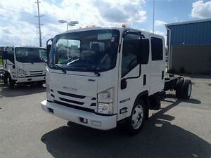 2018 isuzu NQR Cabover  176  inch Crew Cab and Chassis