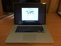 "MacBook Pro - 15"", 512GB SSD, 8GB RAM, 2.4GHz i5"