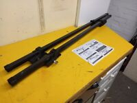 USED ROOF BARS FOR CARS RAILS LOCKABLE