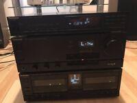 Vintage HiFi Separates Technics SU-X955 Amplifier ST-X999L Tuner RS-X980 Cassete