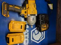 1/2 inch drive DeWalt DCF899 battery impact wrench