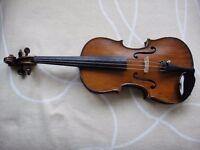 German full size violin - late 19th century.