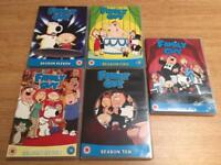 Family Guy Complete Seasons 5,6,7,10,11